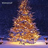 Battery Operated Waterproof Fairy Lights with 10M 100 Warm White LEDs Bild 4