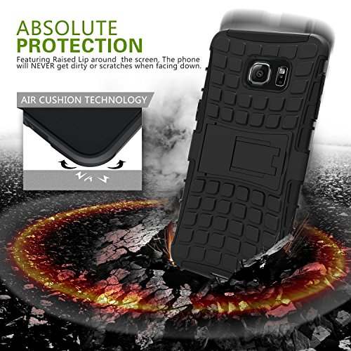 Dashmesh Shopping Hybrid case for Xiaomi Redmi Note 3, Shock Proof Protective Rugged Armor Super Hybrid Heavy Duty Back Case Cover for Xiaomi Redmi Note 3 – Rugged B- Rugged Black Color Color