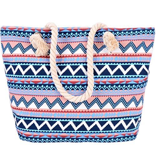 Auber borsa da spiaggia borsa borsa da spiaggia borse a spalla borsa hobo shopping bag borse a tracolla borsa a tracolla borsa a tracolla canvas shopper per le donne e le ragazze
