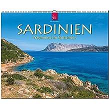 SARDINIEN - Trauminsel im Mittelmeer: Original Stürtz-Kalender 2018 - Großformat-Kalender 60 x 48 cm