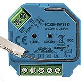 icasa Zigbee 3.0 dimmer | 230V-200/400W | 3 Draads (Heeft nuldraad nodig) |fase afsnijding | Compatible met Zigbee 3.0 Gatewa