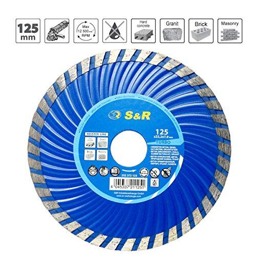S & R disco diamantato 125x 2,2x