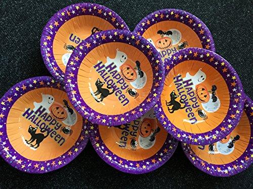 Range Wholesale Halloween Papier Schüsseln Packung mit 20 bis 6,5 -