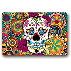 Quality Guaranteed Skull Doormat Custom Indoor/Outdoor