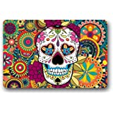 Quality Guaranteed Skull Doormat Custom Indoor/Outdoor Doormat-048 by Door Mat