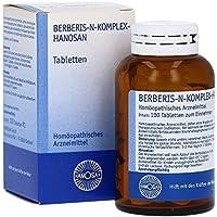 BERBERIS N-KOMPLEX-HANOSAN Tabletten 100 St Tabletten preisvergleich bei billige-tabletten.eu