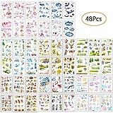 Ritte Sticker, 48 Blatt Scrapbooking Aufkleber Fotoalbum Dekoration Tagebuch Album Stick Label für Tagebuch Scrapbook Kalender Notizbuch Fotoalbum DIY Dekoration