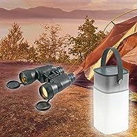 Enceinte LED Bluetooth camping + Paire de jumelle