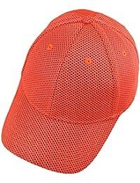 ef5d4c0a KYEYGWO Summer Mesh Baseball Cap for Men, Ultra Thin Lightweight Breathable  Sun Hat Running Caps