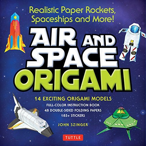 Air and Space Origami Ebook: Paper Rockets, Airplanes, Spaceships and More! [Origami eBook] (English Edition)