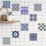 Best Kitchen Decors - 10 Pack Various Traditional Wall Tile Stickers 7.87x7.87inch Review
