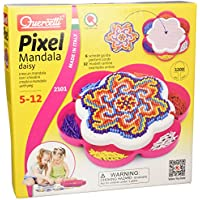 Quercetti 02101 - Gioco Pixel Mandala Daisy
