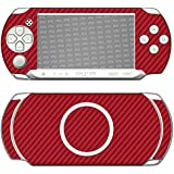 "Skin Sony PSP-E1000 / E1004 ""FX-Carbon-Red"" Sticker Autocollant"