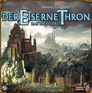 Heidelberger Spieleverlag HE416 - Der Eiserne Thron, Juego de Mesa (2ª edición) Importado de Alemania