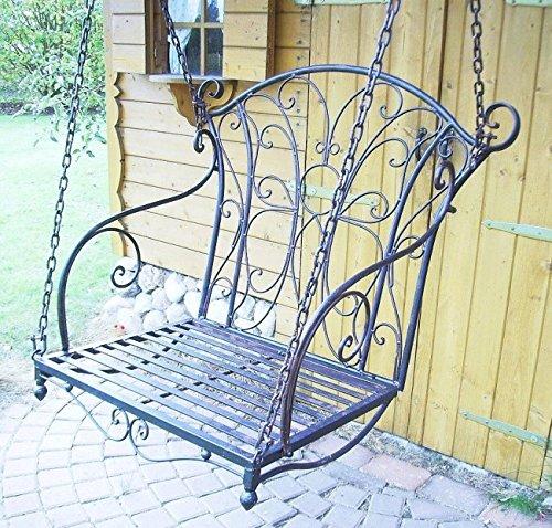 Altalena con catene Relax Poltrona-amaca Panca-altalena Altalena da giardino Altalena-Hollywood