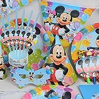 Disney Mickey Mouse–compleanno festa di nozze decorazione tavola Cartoon, 16Pezzi Kit Da Trimming Shop (luce blu)