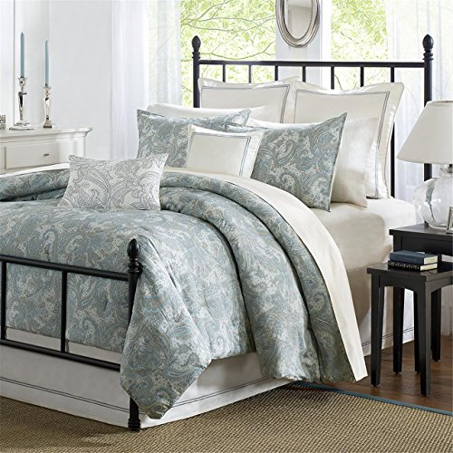 Harbor House Chelsea Paisley Tröster Set, King, Multi -