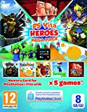 Cheapest PS Vita Heroes 5 Game Mega Pack Inc 8gb SD Card on PlayStation Vita