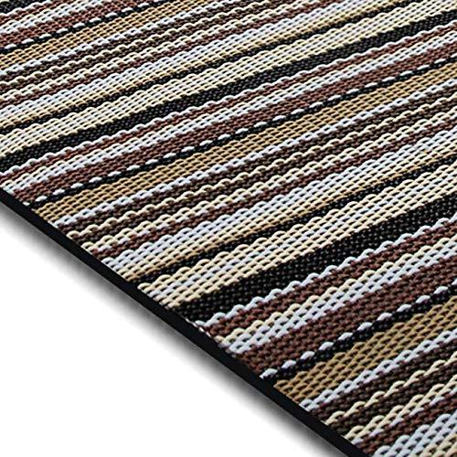 casa pura Design Bodenschutzmatte Asti in 6 Größen | dekorative Unterlegmatte für Bürostühle oder Sportgeräte (200 x 180 cm)