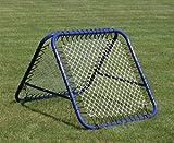 Rebounder, von 2 SEITEN bespielbar, hochwertig - Premium - 105 x 105 cm - Touckballrahmen, Netzrückprallwand
