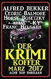Der Krimi Koffer - Acht Top Thriller