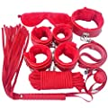 UNIMM Adult's Fun Toys 7pcs Underbed Bandage Restraint System for Couple