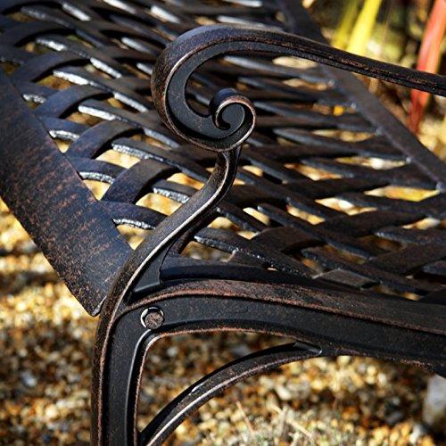 Lazy Susan – ROSE Gartenbank aus Aluminium - 9