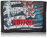 Nitro Wallet, Geldbörse, Geldbeutel, Portemonnaie, Münzbörse, Broken Palms, 10 x 14 x 1 cm, 1131-878000_1759, 60g