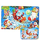 OYD Christmas Puzzle, Weihnachts-Puzzle Merry Christmas 60 Piece