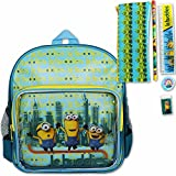 Kindergartentasche - Kinderrucksack - Rucksack Minions mit Federmappe