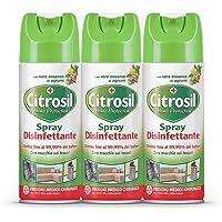 Citrosil Home Protection - Spray Disinfettante Superfici Multiuso, Elimina Fino al 99,9% dei Batteri, con Vere Essenze…