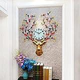 ZO Uhren Wohnzimmer Wanduhr Kreative Dekorative Glocke Luxus Atmosphäre Hängen Stumm Uhr Quarzuhr,EIN
