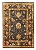 Nain Trading Ziegler Farahan 118x82 Orientteppich Teppich Läufer Beige/Orange Handgeknüpft Pakistan