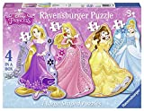 Ravensburger 7398 - Principessa Disney 4 Shaped puzzle