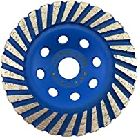 PRODIAMANT Muela de copa de diamante 125 x 22,2 x 24 mm - Calidad profesional para hormigón, granito, piedra natural, mármol, piedra artificial, mampostería, ladrillo, enlucido, pavimento, universal.