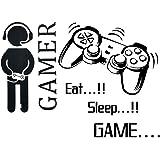 BESLIME Pegatina Juegos Inspiradora , Pegatinas de pared para juegos Para Dormitorio, Dormitorio, Salón Sala De Juegos, Niño