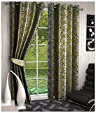 Kanha 2 Piece Polyester Abstract Door Cu...