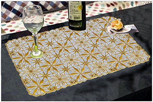 Kuber Industries™ Dining Table Placemats Set Of 6 Pcs (Virgin viny) Print might be vary as per availability