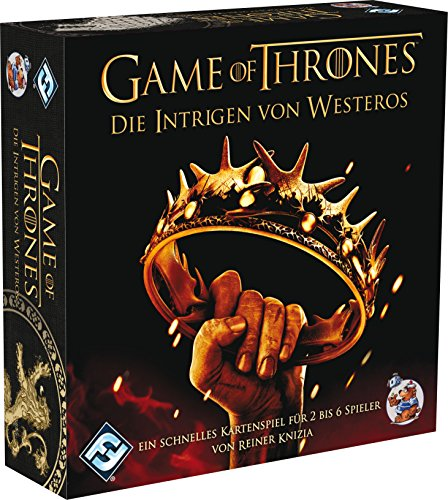Heidelberger HE593 - Gioco in scatola di Game of Thrones, lingua tedesca