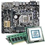 Intel Core i5-7500 / ASUS H110M-PLUS / 16GB Mainboard Bundle | CSL PC Aufrüstkit | Intel Core i5-7500 4X 3400 MHz, 16GB RAM, Intel HD Graphics 630, LAN, 7.1 Sound, USB 3.1 | Aufrüstset | PC Tuning