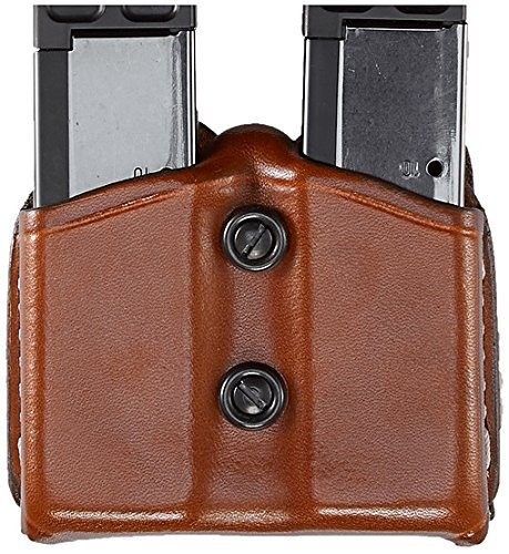 Aker Leather 616 Carry Comp II, Tan, Fits Most Standard Glock 20, 21, 29, 30, Hecker & Koch USP, Smith & Wesson M&P and Springfield XD Double Stack .45 Magazines by Aker Leather -
