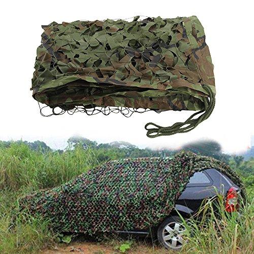 Al Aire Libre Techo Size : 3*4m Camuflaje Digital fotografía. Camping SSWZZHANG Lona alquitranada Red Militar de Camuflaje / Camping Disparos Militares de Caza para Acampar al Aire Libre