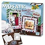 Mosaik Bastel-Set XXL, über 800 Teile inkl. 2 Bilderrahmen, für zauberhafte Andenken