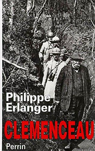 CLEMENCEAU par PHILIPPE ERLANGER