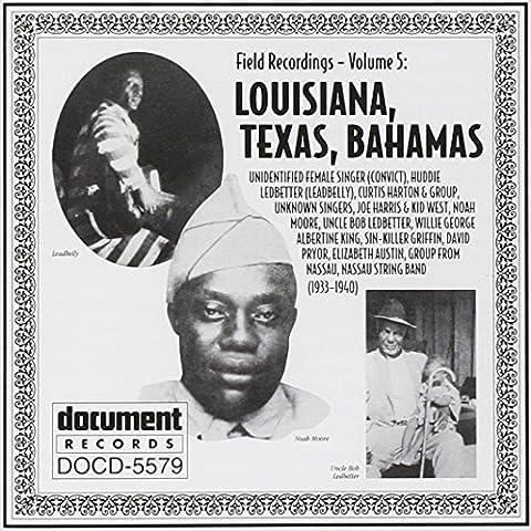 Vol.5-Louisiana Texas Bahamas [Import anglais]