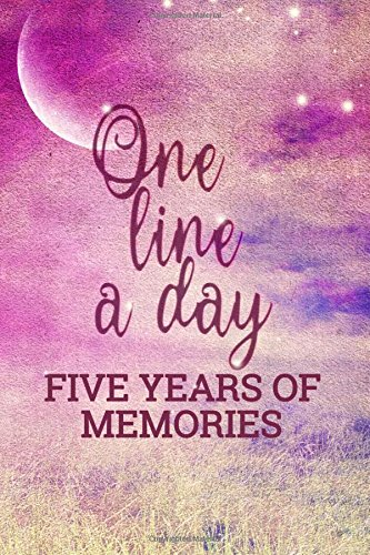 one-line-a-day-five-years-of-memories-5-years-of-memories-blank-date-no-month-6-x-9-365-lined-pages