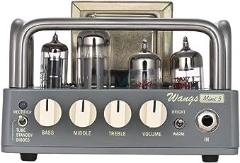 Muslady Gitarrenverstärker Amp Kopf BIYANG Wangs Mini 5 Kraftvoll 5 Watt Alles Rohr mit 12AX7 12BH7 6Z4 Röhren