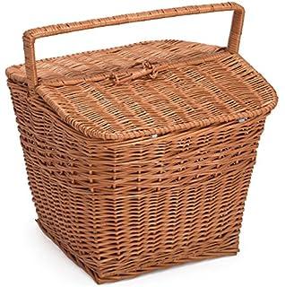 Prestige Wicker Picnic Basket Natural dp BXUEYQ