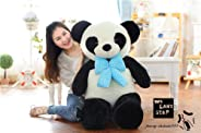 Plush Toy Giant Big Huge Panda Teddy Bear Plush Soft Toys Doll Gift 100Cm Gift A Cute Plush Toys For Children Pp Cotton