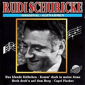 RUDI SCHURICKE - Die großen Gentlemen - CD6